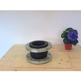 Rohrschalldämpfer Heizungsrohr  Vibrationsdämpfer Flansch ZKB 4.100  DN10 K - 4