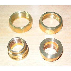 Rotguss Pumpenanschlussverschraubungen o. Dichtung  Bronze  3/4 x 1 1/4 Sanha