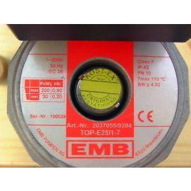 Pumpe EMB TOP-E 25/1-7 1x230 V 180 mm 1 1/2 Zoll Heizungspumpe KOST-EX P13/130