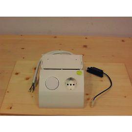 Halogen Trafo 11,5 V 20-60 W mit Schalter und Steckdose Arbeitsbeleuchtung