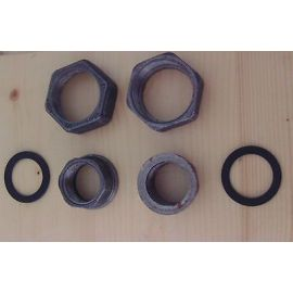 Pumpenverschraubungen 1 1/2 Zoll auf 1 Zoll KOST - EX S13/126