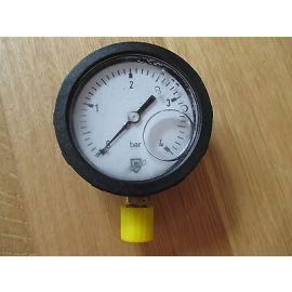 Scheich Druckmanometer 4 bar Druckmesser 60 mm mit Dämpfung Druck KOST-EXS10/168