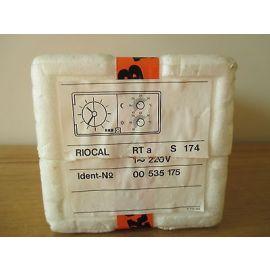 KSB RIOCAL RTa S174 Temperaturregler Thermostat Ident-No. 00 535 175  S14/217