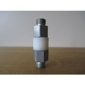 GOK GV Muffe 10x10 DIN geprüft Gasmuffe gerade isoliert Isoliermuffe  S13/339