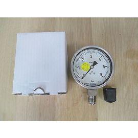 Wika Manometer 6 bar 232.50.100 Halbzoll Edelstahl 100 mm Pumpenkost S16/11