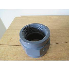 PVC Fitting plimat  2'' x 63  mm Durchmesser Gewinde 2 IG  PUMPENKOST S13/330
