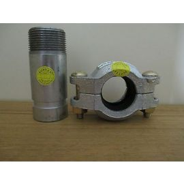 Victaulic Kupplung und Stutzen für Grundfos Pumpe CRN 42,2 Clamp Schelle S16/74