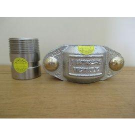 Victaulic für Grundfos CRN  Kupplung Clamp + Stutze Pipe Edelstahl 42,2  S16/75