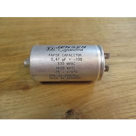 Kondensator für Grundfos CU2 Jensen Capacitors 0,47 Mikrofarad 530 WVAC P13/1334