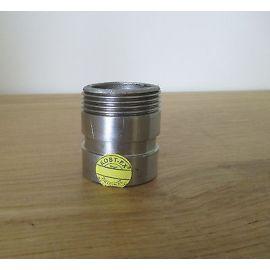Victaulic Edelstahl Anschluss Stutzen 42 mm 48 mm für Grundfos Pumpe  S15/58