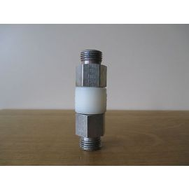 GOK GV Muffe 15x15 DIN geprüft Gasmuffe gerade isoliert Isoliermuffe S13/340