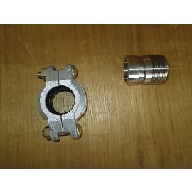 PJE Victaulic Kupplung und Stutzen 42 mm 1 1/4 Zoll für Grundfos Pumpe CRI/CRN Nirosta   S15/157