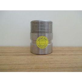 PJE Victaulic Stutzen für Grundfos Pumpe CRI/CRN Nirosta Edelstahl 42mm  S15/158