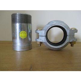 Victaulic Kupplung und Nippel für Grundfos Pumpe CRN 60,3 Clamp Schelle S16/73