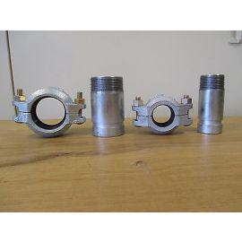 Victaulic Kupplung und Stutzen für Grundfos Pumpe CRN 42,2 Clamp Schelle S15/159