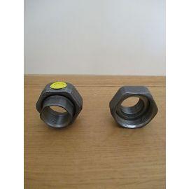 Pumpe 1 Paar Pumpenverschraubung von 1 1/2 Zoll auf 1 Zoll Verschraubung S16/313