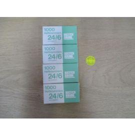 Heftklammern 24/6 verkupfert 4000 Stück Tacker Klammer Bostitch K17/575