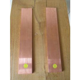 Kupferbarren 4 X 5 kg Cu Edelmetal Fein 999,9 Hochrein Kupfer Barren €25,10/ kg