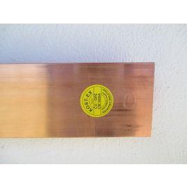 Kupferbarren 12,5 kg Cu 70X10X 2000 Fein 999,9 Hochrein Kupfer Barren €18,90/kg