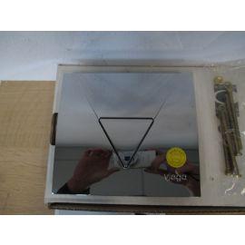 Viega Urinal Spülsystem Befestigungsplatte Nr. 448 806 verchromt K17/1018