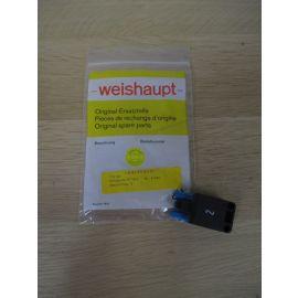 weishaupt 716134 Steckerteil Thermo ST18/3 blau Nr. 2 Ersatzeil K17/1037
