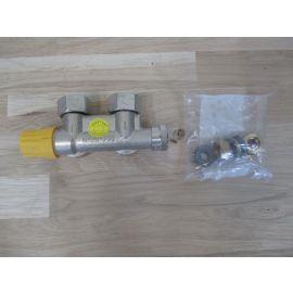 Danfoss VHS 15 Armatur Set Zweiröhr Eckform Heizkörper Rücklauf KOST-EX K17/181