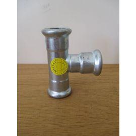 T- Stück 22 x 22 x 22 mm C-Stahl verzinkt Press Fitting K17/373