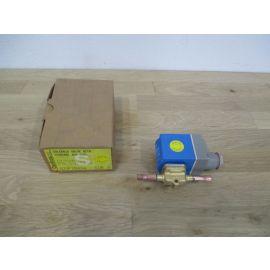 Danfoss Magnetventil EVR 3 mit Ventilgehäuse 1/4 Zoll Lötanschluss 220 V K17/376