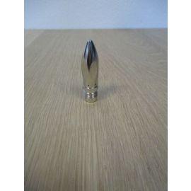 Legris Coanda Düse M12 x 1,25 für Ausblaspistole Messing vernickelt K17/497
