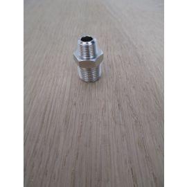 Doppelnippel AG 1/4 - 1/8 Zoll Reduktionsnippel Messing Verschraubung K17/516