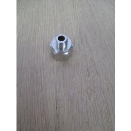 Vergrößerungsnippel Verschraubung 1/4 - 1/8 Zoll IG und AG Messing K17/523