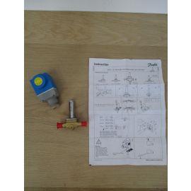 Danfoss Magnetventil EVR 3-B 032F811031 mit Spule 1 / 4 Zoll 6 mm Ventil K17/567