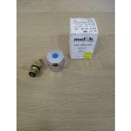Meloh Griff HM 6 blau Gewinde 3/8 Zoll Kaltwasser Armatur chrom K17/697