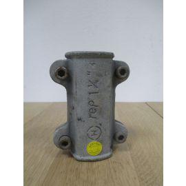 Dichtschelle 1 1/4 Zoll für Stahlrohr Reparatur-Abdicht-Schelle K17/778