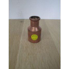 Kupfer Reduzierung 22 mm x 42 mm Sanha Press Fitting CU DVGW K17/884