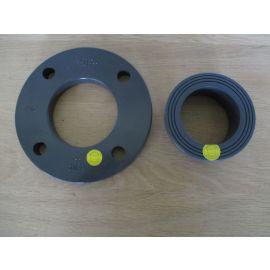GF PVC Flansch und Stutzen 75 mm DN 65 PUMPENKOST K17/958