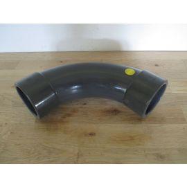 PVC Rohr Bogen 90° 75mm Klebemuffe Teichbau Sanitär Pool K17/962