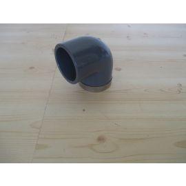 Übergangs Winkel 90 Grad PVC PN16 VDL 50 mm x 1 1/2 Zoll K18/152