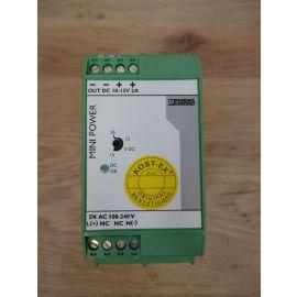 Trafo Netzteil Phoenix Mini PS 100 - 240 AC / 10 - 15 DC / 2 K18/167