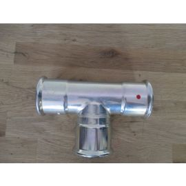 """SANHA Therm Pressfitting C-Stahl T-Stück 54 x 54 x 54 mm"""" VdS 20954 K18/253"""