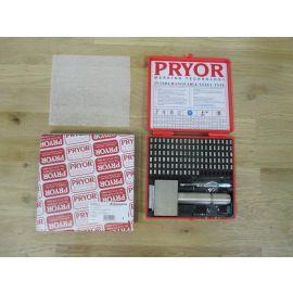 Pryor Set Schlagstempel m. Handhalter 3 mm Schlagbuchstaben Metal Letter K18/271