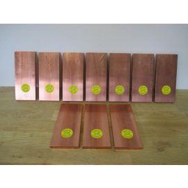 Kupferbarren Kupfer Barren 10 x 1 kg Cu 70X10X162 Fein 999,9 Hochrein €21,40/kg