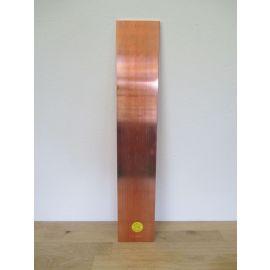 Kupferbarren Kupfer Barren 5 kg Cu 10x100x556 Fein 999,9 Hochrein m. Zertifikat € 19,8/kg