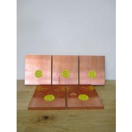 Kupferbarren Kupfer Barren 5x1 kg Cu OFE 10x100x114 Hochrein 999,97 € 21,60/kg