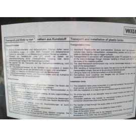 Wilo Behälter 500 Liter Fass PE Wassertank Trinkwassertank Pumpenkost K17/59
