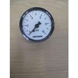 Manometer 10 bar Druck Druckmesser Luft 1/4 Zoll 50 mm Wasser S12/306