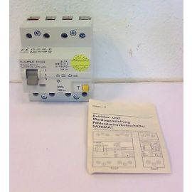 Fehlerstromschutzschalter Safemat 25 A 30 mA