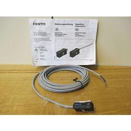 Festo Elektrischer Näherungsschalter Endschalter SMED-1-LED-24-K5 S13/220