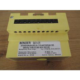Bender SUD 470 Unterspannungsrelais 3x 230 V AC Spannungswächter KOST-EX S14/351