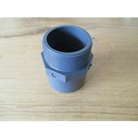 PVC Fitting Astore  50x63x2  50 mm  Durchmesser Gewinde 2 IG PUMPENKOST S13/331